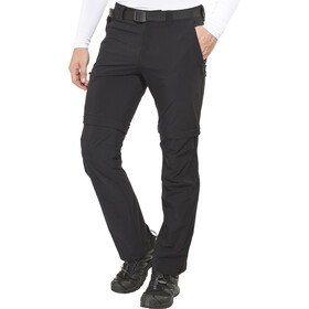 Maier Sports Tajo 2 Zip-Off Trousers Men, black